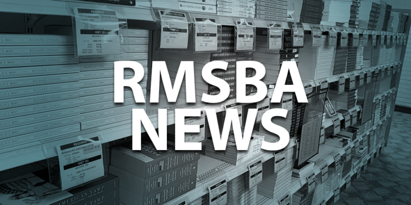 "RMSBA News - Books with text that reads ""RMSBA News"""